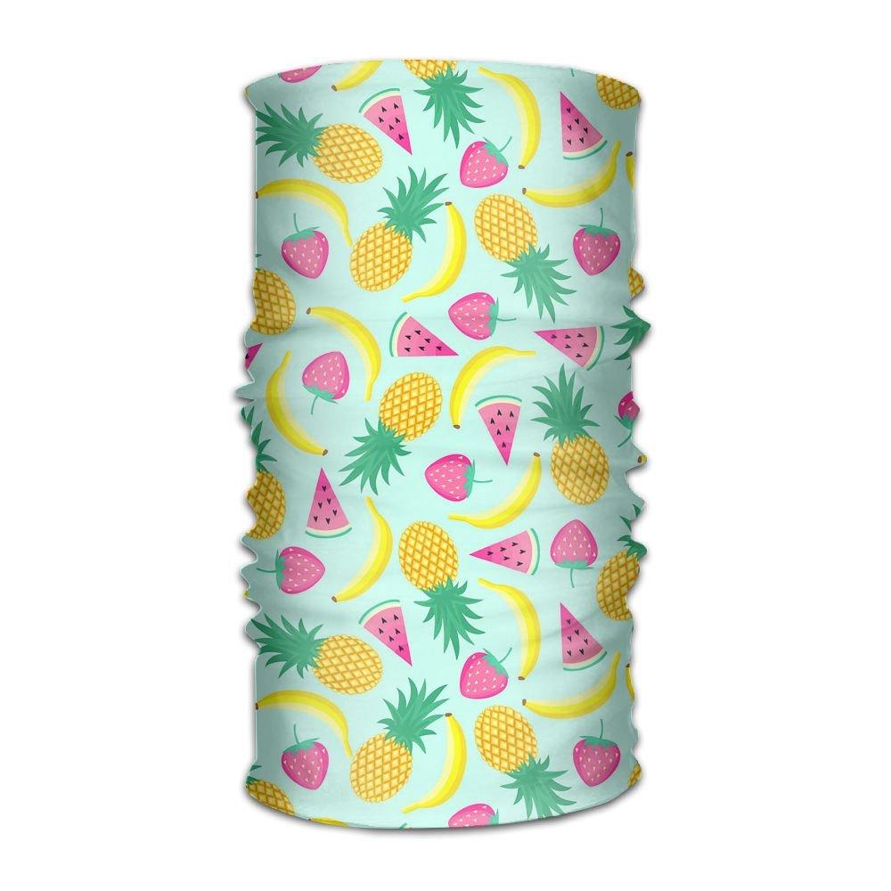 Redcong Headbands Headwear Bandana Summer Fruit Scarf Wrap Mask Sweatband Outdoor Headscarve