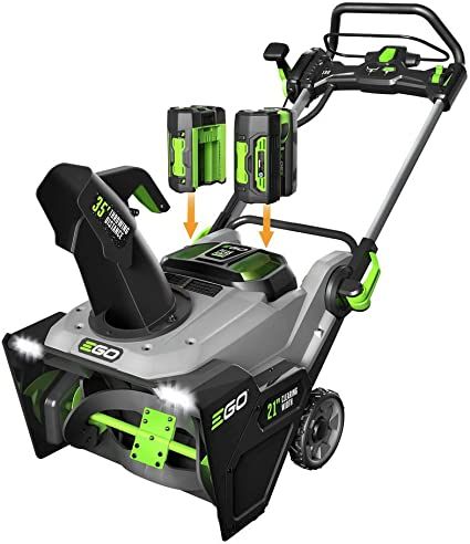 EGO Power+ SNT2102 - Ultra-Powerful Battery-Powered Snow Blower
