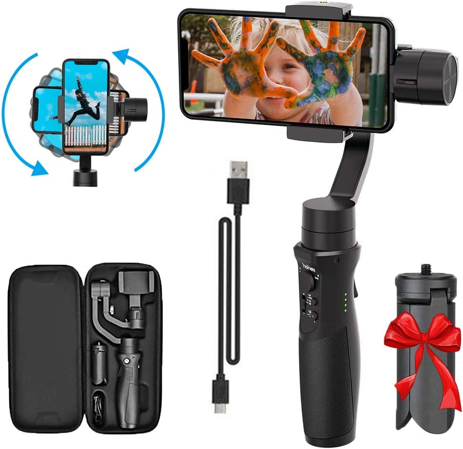 3-Axis Handheld Gimble Time-Lapse /& Tracking for Smooth Handheld Gimbal Stabilizer Steady Digital Photography and Advanced Video Filming Techniques