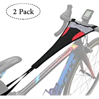 Thinvik 2-Pack Bike Frame Sweat Guard Sweat Absorbs Prevent Bicycle from Corrosion For Bicycle Trainer Indoor Cycling Training