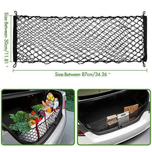 VCiiC Envelope Style Trunk Cargo Net for Toyota Camry 2012-2018 2019