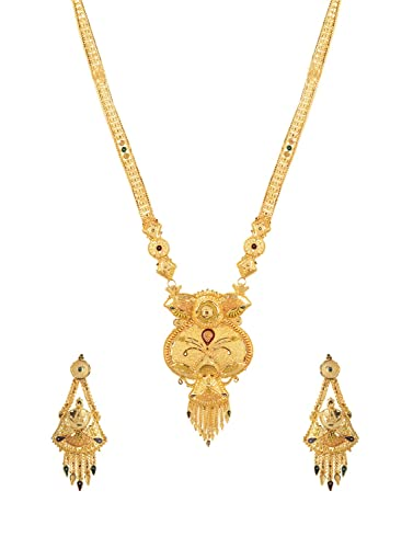 Buy youth one gram gold long haram necklace set for women yi96 youth one gram gold long haram necklace set for women yi96 aloadofball Gallery