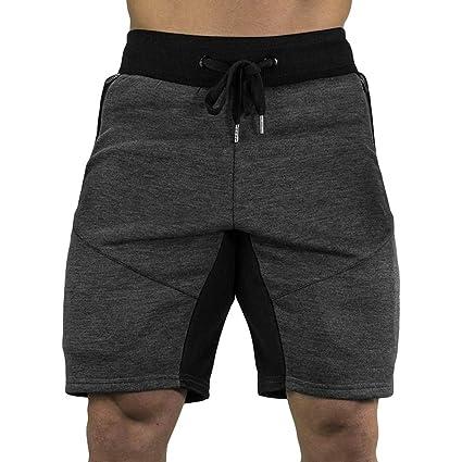 Modaworld Pantalones Cortos Hombre Deporte Moda Pantalones de ...