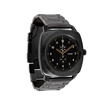 X-WATCH 54026 Nara XW Pro Montre connectée Homme Apple iOS Android Compatible Dark Fire