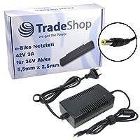 Trade-Shop Netzteil Ladegerät Ladekabel 3A für 36V Akkus mit 5,5mm x 2,5mm Rundstecker ersetzt HP1202L3 für Prophete Alu Trecking, Phylion, Aldi, Lidl, MiFa, Cyco, Curtis und McKenzie e-Bikes%0d%0a