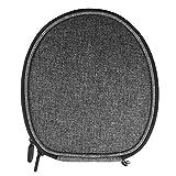 Slim Carrying Headset Case for Sony WI1000X H700 C400 Sbh70 EX750BT, Audioxa, LEOPHILE EEL IP67, Titimor Ansot M1, Bluenin HiFi Neckband Wireless Headset / Protective Travel Bag (Dark grey)