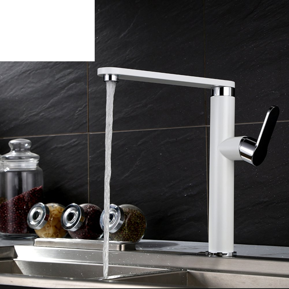 ZHF redary hot and cold kitchen faucet Chrome vegetables basin sink faucetA
