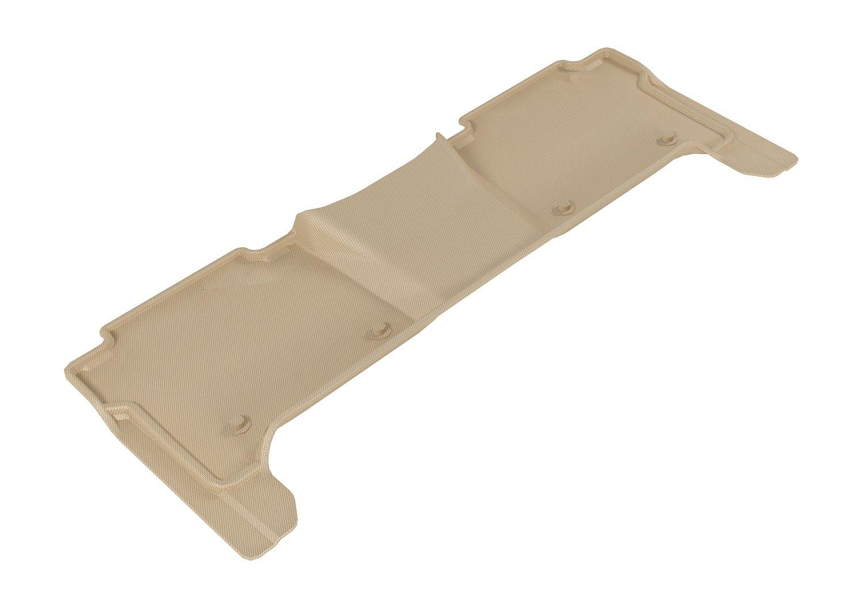3D MAXpider L1NS09531502 Tan Kagu Rubber Third Row All-Wether Floor Mat for Select Nissan Armada Models