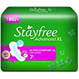 Stayfree Advanced XL Soft Ultra-thin (with wings, 7 pads)