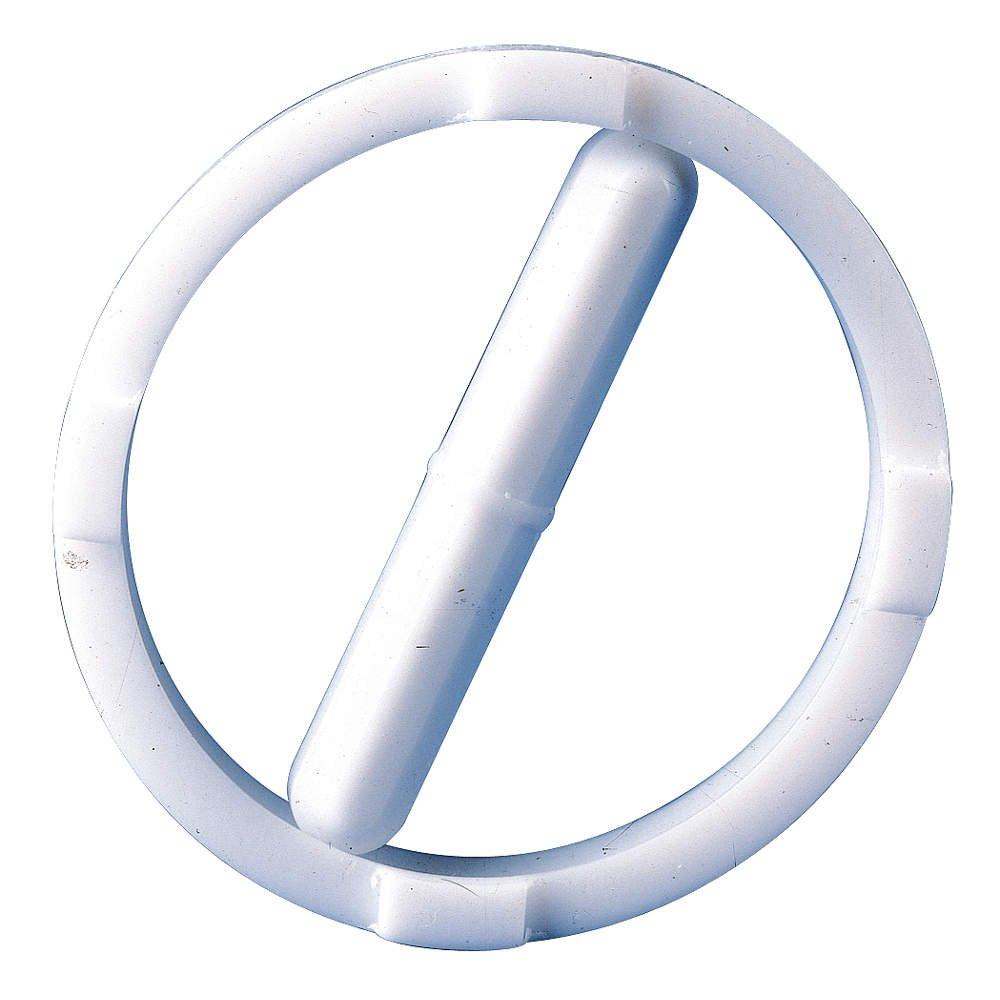 Bel-Art Spinring Teflon Magnetic Stirring Bar; 50.8 x 8mm, 57.2mm Ring O.D, White (F37140-0020)