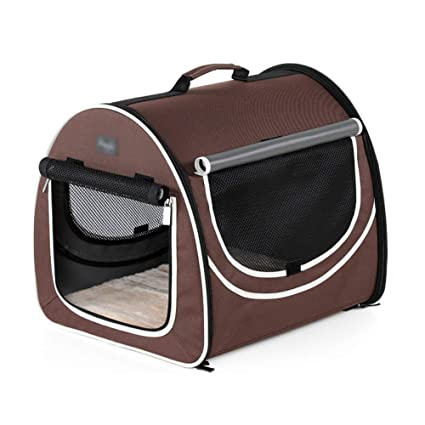 Bolso de Perro Salir Estuche portátil Coche Perrera Mascota Bolsa de Viaje Cama portátil para Mascotas