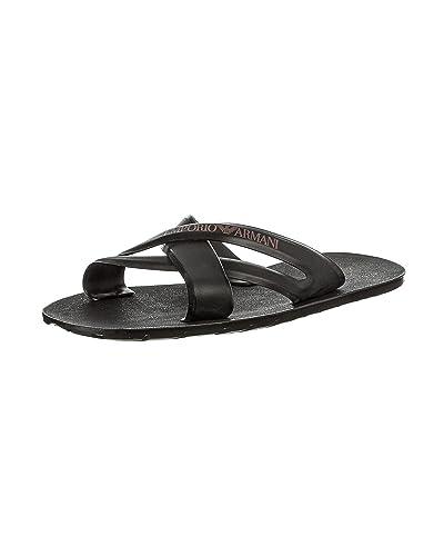 Huge Selection Ea7 Men Slippers Slippers Ea7 mens Black EA7 Mens Slippers
