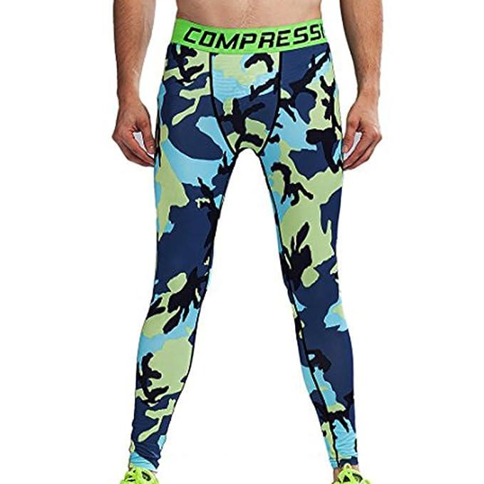 Calzoncillos de compresión para hombres Pantalones de entrenamiento para la salud Calcetines de ejercicios deportivos de larga duración Pantalones elásticos ...