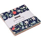 """MODA Garden Variety Charm Pack by Lella Boutique; 42-5"""" Precut Fabric Quilt Squares"""