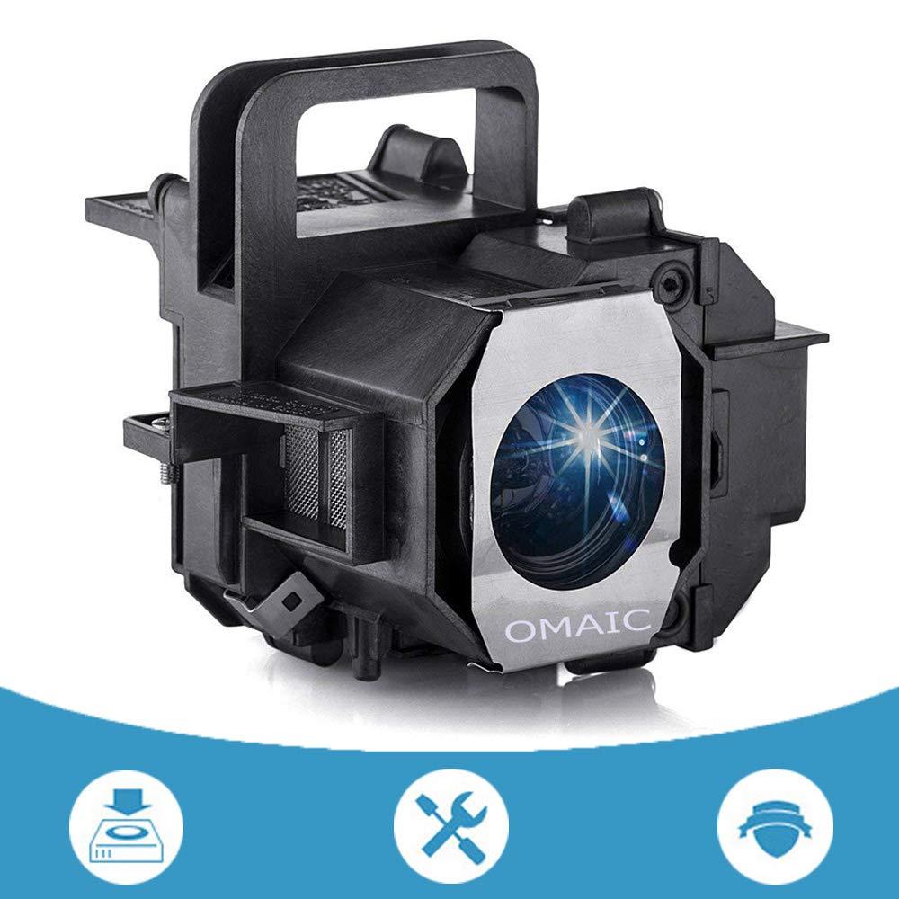 OMAIC Projector Lamp Bulb for Epson ELPLP49/ V13H010L49 Home Cinema PowerLite 8350 8345 8500UB 8700UB 6100 6500UB 8100 7100 7500UB Replacement Projector Lamp/Bulb by OMAIC