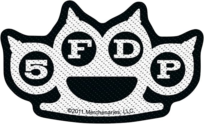 *New FIVE FINGER DEATH PUNCH IRON ON PATCH*