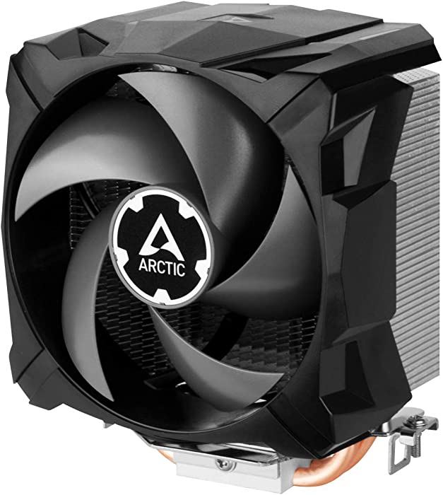 ARCTIC Freezer 7 X CO – Compact Multi-Compatible CPU Cooler for Continuous Operation, 92 mm Fan, Compatible Intel & AMD Sockets, 300–2000 RPM (PWM Controlled), Pre-Applied MX-2 Thermal Paste - Black