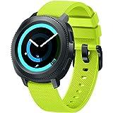 BarRan® Vivoactive 3 Correa del Reloj, Reemplazo Silicona Deportiva WatchBand para Garmin Vivoactive 3