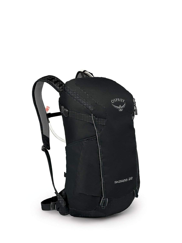 (オスプレー) OSPREY MEN`S HIKING スカラベ22 バックパック (並行輸入品) One Size ブラック B07NXC2L36