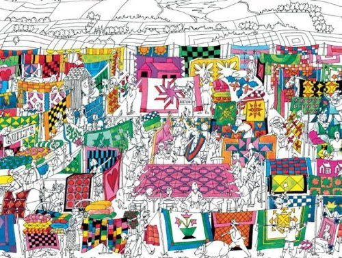 Country Quilters Jigsaw Puzzle by Ceaco