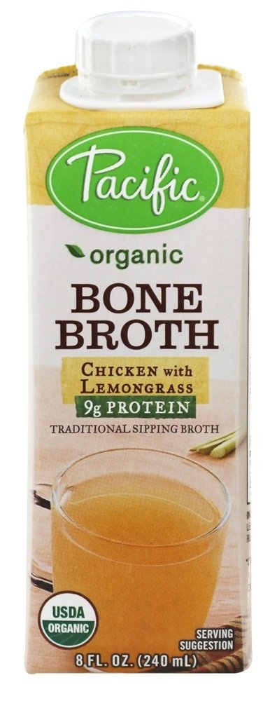 Pacific Natural Foods - Organic Bone Broth Chicken with Lemongrass - 8 oz(pack of 2) by PACIFIC FOODS (Image #1)
