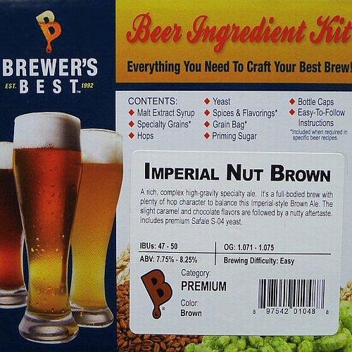 Brewer's Best BIK-1048 Imperial Nut Brown Homebrew Beer I...