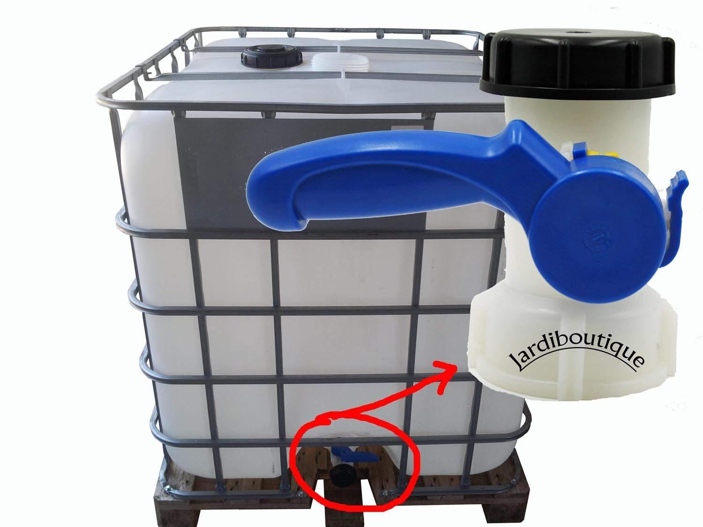 Valvola per IBC da 1000/litri 2/'/' 60/mm