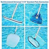 ALVAR 12 Foot Thicken Telescopic Swimming Pool