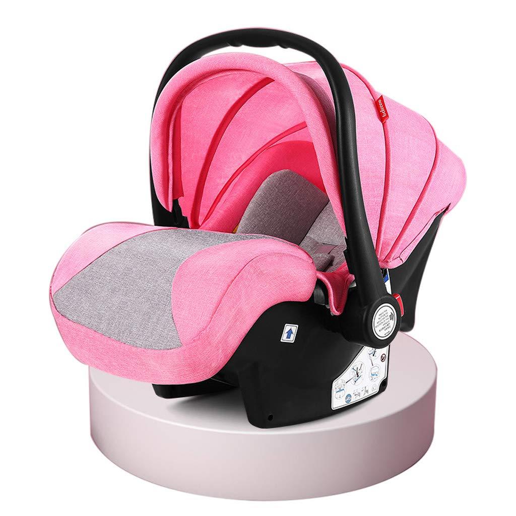 車の高い景色ベビーカーの安全な座席、ハンドヘルドスリーピングバスケット旅行のための折り畳み式の新生児用機器 - 60 * 37 * 54 cm  B B07PRKRKXW