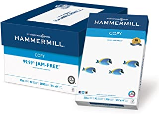 product image for Hammermill Printer Paper, 20 lb Copy Paper, 8.5 x 14 - 10 Ream (5,000 Sheets) - 92 Bright, Made in the USA