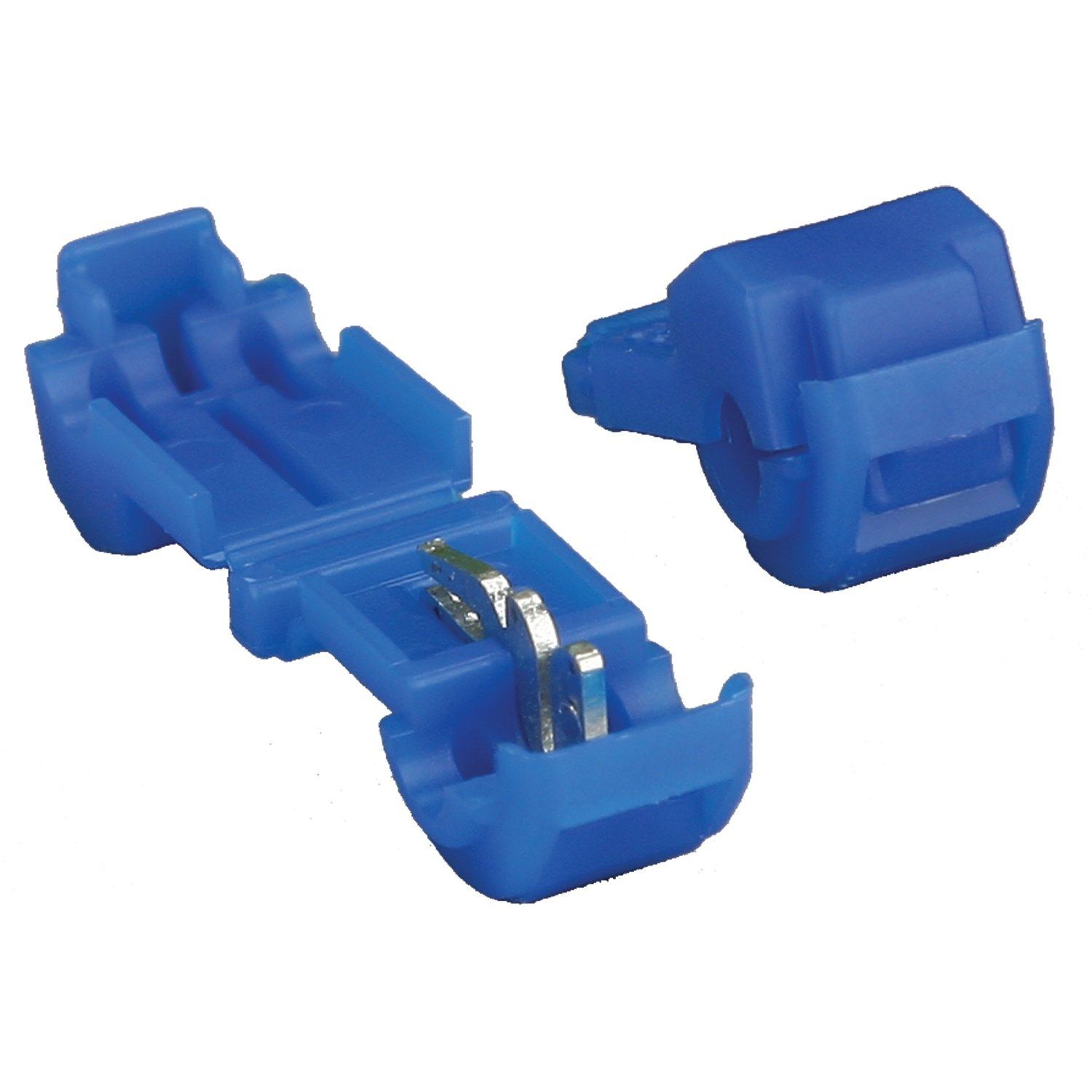 Install Bay 3M T-Tap Connector 16/14 Gauge, 100-Pack (Blue) Metra Electronics Corporation 3MBTT