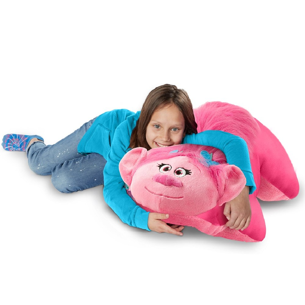 Pillow Pets Jumboz Dreamworks Trolls Poppy - 30'' Jumbo Pillow Pet Stuffed Animal Plush Toy by Pillow Pets