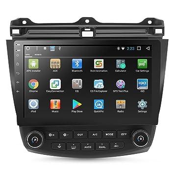 """Rupse - Reproductor GPS para coche (10,1"""", pantalla táctil capacitiva con"""
