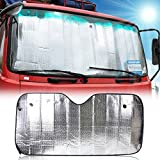 YGMONER Sun Shade Car Truck Van Truck Visor Windshield Dashboard Cover Heat Reflective