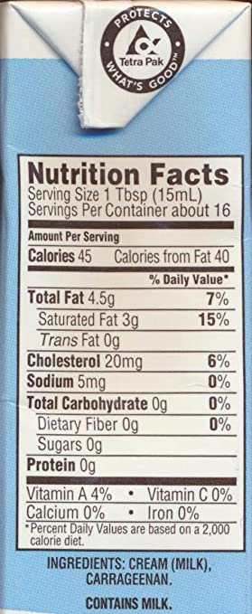 3 Pack Trader Joe S Shelf Stable Tetra Grade A Whipping Cream 8 Fl Oz 236 Ml Cream At The Ready When You Need It Uht Room Temperature 3 Pack Amazon Com Grocery Gourmet Food
