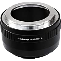 Fotasy Tamron Adaptall II Lens to Leica L Adapter, Adaptall-2 Leica T Adapter, Adaptall-2 Sigma L Adapter, Adaptall-2 Panasonic L Adapter, fit Leica SL SL2 TL2 TL T Panasonic Lumix S1 S1H S1R Sigma fp