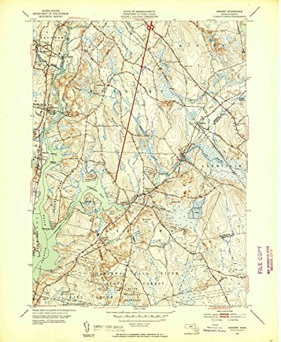 Used, YellowMaps Assonet MA topo map, 1:31680 Scale, 7.5 for sale  Delivered anywhere in USA