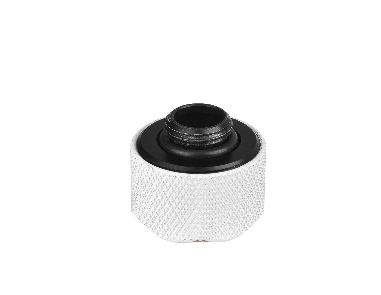 Thermaltake Pacific C-Pro G1//4 PETG OD Kompressionsfittinge wei/ß 16 mm, 6er Pack