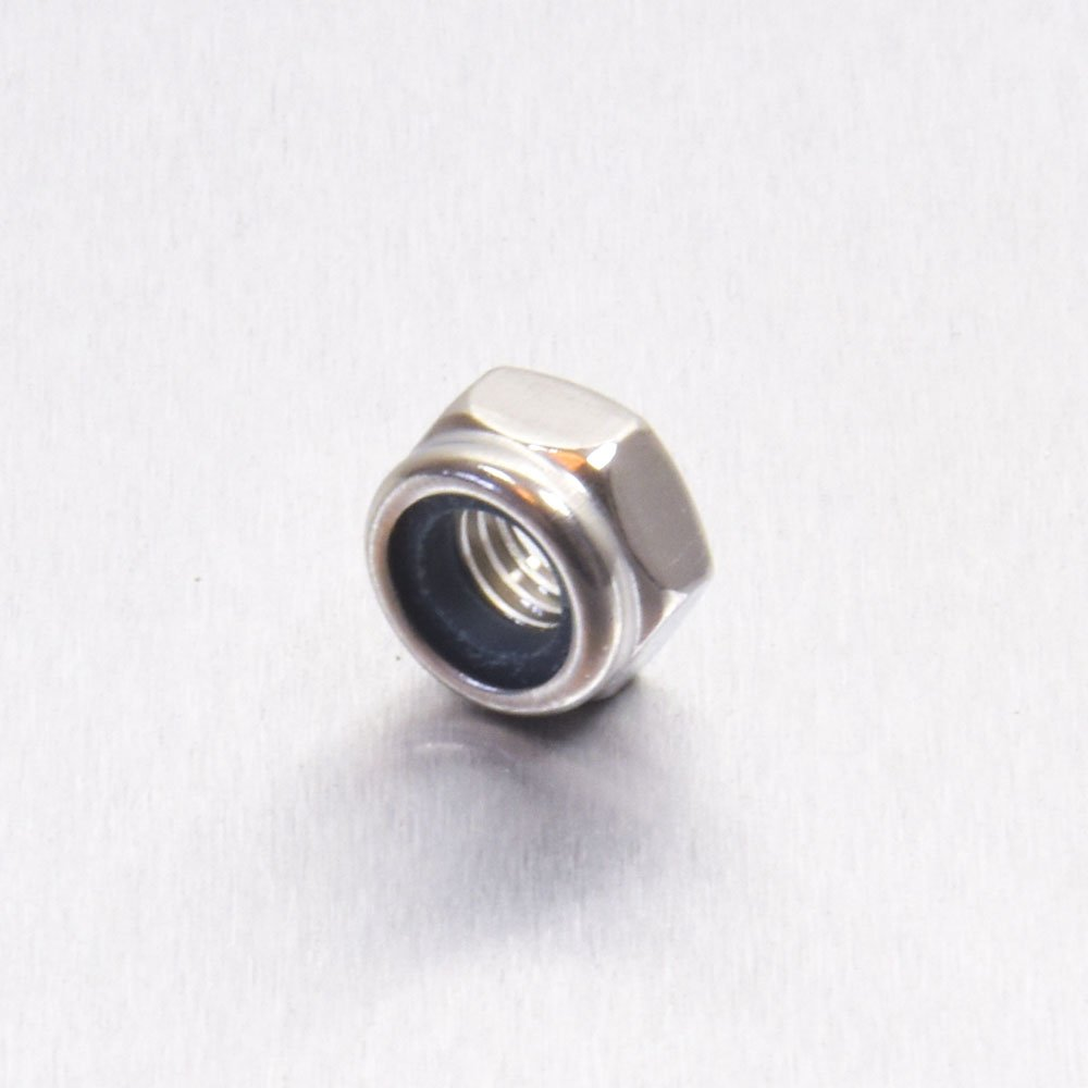 Stainless Steel A4 Nylock Nut M6