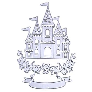 Amazon Castle Fairy Tale Smdoxi Metal Cutting Dies Stencil