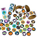 Rhode Island Novelty Assorted Halloween Stickers, Pack of 500
