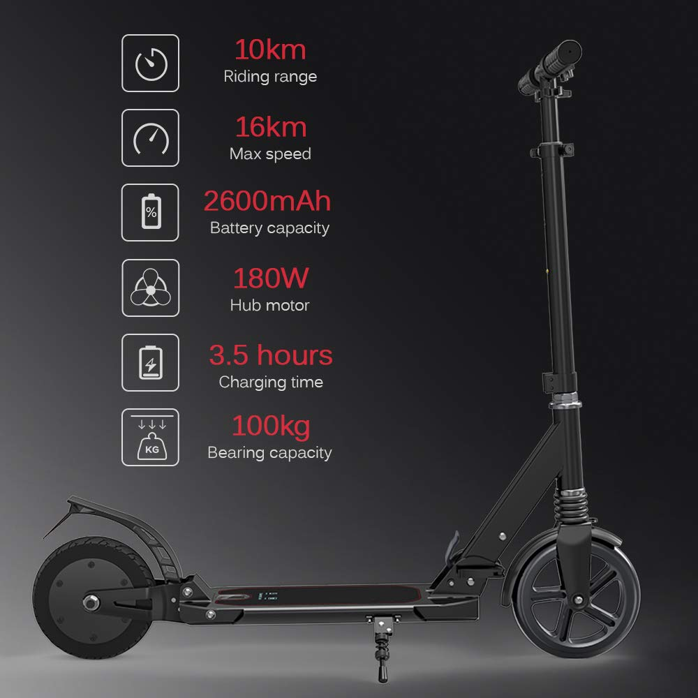 Amazon.com: MKJHBDF Adults Outdoor Foldable Mobility Scooter ...
