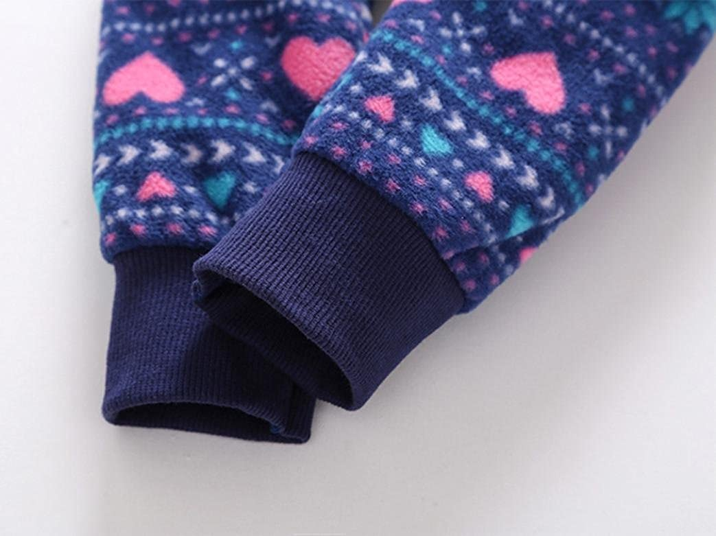 Coerni Newborn Baby Cute Thick Warm Cotton Romper Jumpsuit