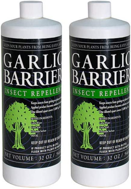 Garlic Barrier Insect Repellent Liquid Bundle (32 Ounces) (2 Items)