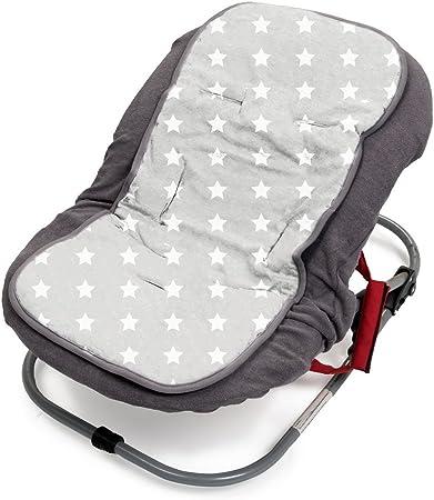 Briljant Baby 2 en 1 Funda de asiento universal para coche con sistema de cintur/ón de 3 y 5 puntos
