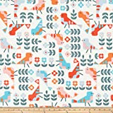 Designed by Anna Bella for Cloud 9 Fabrics this certified 100% organic cotton print fabric meets the GOTS certification; only low impact organic dyes were used in this product. This fabric is perfect for quilts home decor accents craft projects and a...