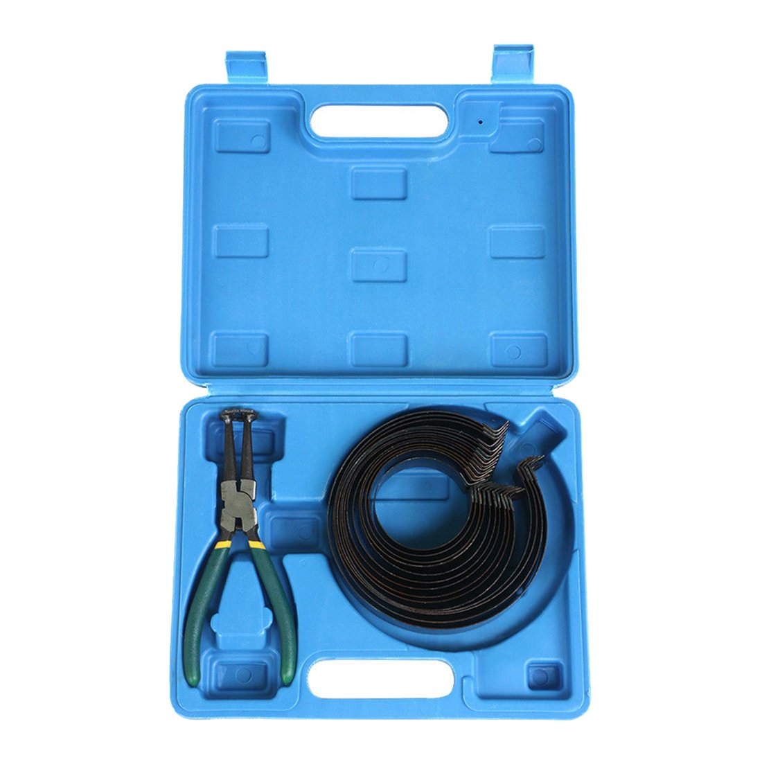 Piston Ring Compressor with plier - SODIAL(R) Piston Ring Compressor with plier 62mm - 145mm Auto Engines 14PCS 087684