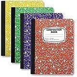 Bulk School Supplies Wholesale Case Pack of 48 Notebooks (Composition Book, Colors)
