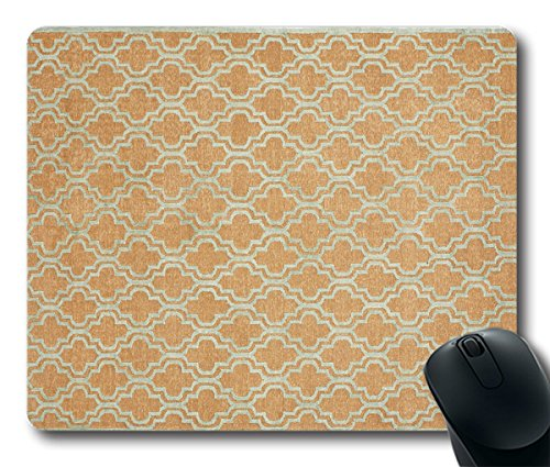 Tom Mousepad Bark/Light Blue Rug Style 9.45 Inch By 7.87 Inch Rectangle Shaped Mouse Mat Natural Eco Rubber Durable Computer Desk Stationery Accessories Mouse Pads For Gift T160617068 - Bark Rug