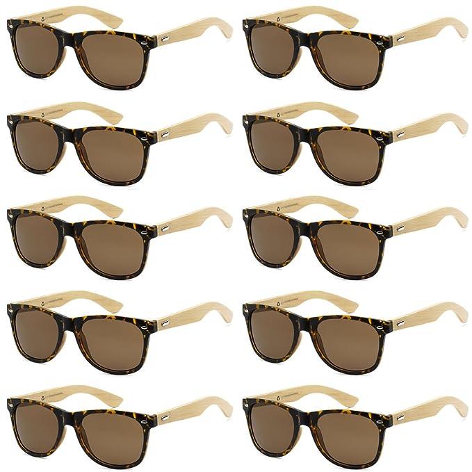 Amazon.com: Wholesale - Gafas de sol de bambú ecológicas ...